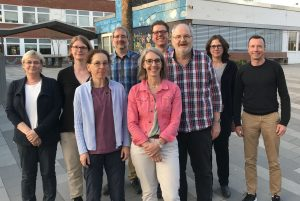 Gruppenfoto der Vorstandes
